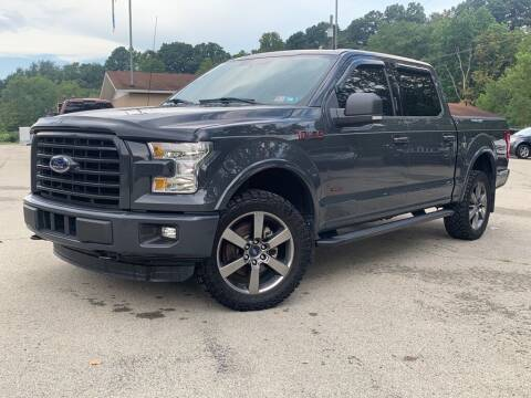 2016 Ford F-150 for sale at Elite Motors in Uniontown PA