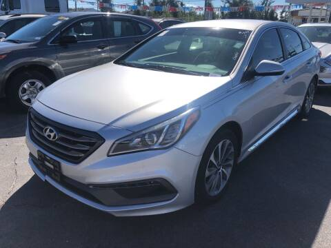 2015 Hyundai Sonata for sale at Outdoor Recreation World Inc. in Panama City FL