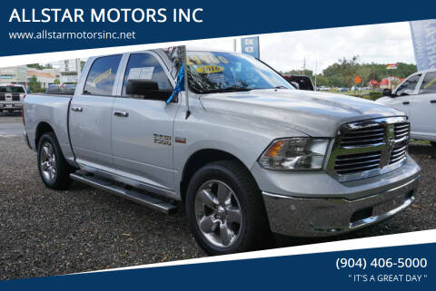 2016 RAM Ram Pickup 1500 for sale at ALLSTAR MOTORS INC in Middleburg FL