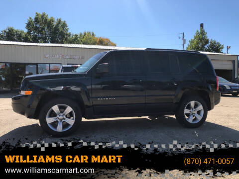 2012 Jeep Patriot for sale at WILLIAMS CAR MART in Gassville AR