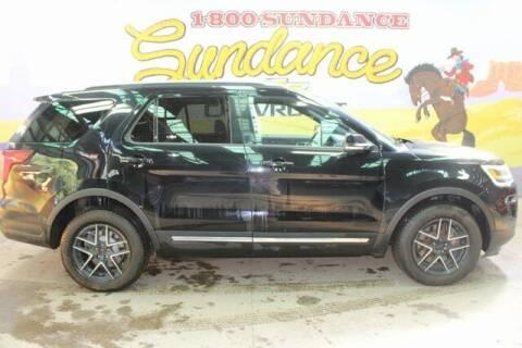 2018 Ford Explorer for sale at Sundance Chevrolet in Grand Ledge MI