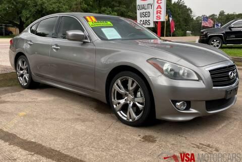 2011 Infiniti M37 for sale at VSA MotorCars in Cypress TX