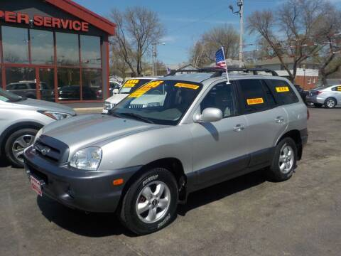 2006 Hyundai Santa Fe for sale at Super Service Used Cars in Milwaukee WI