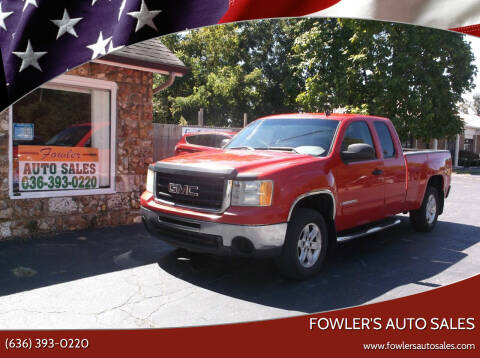 2009 GMC Sierra 1500 for sale at Fowler's Auto Sales in Pacific MO