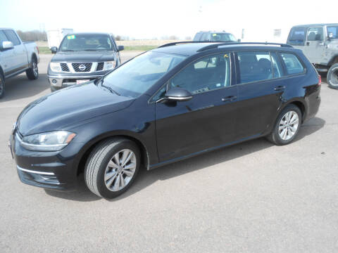 2019 Volkswagen Golf SportWagen for sale at Salmon Automotive Inc. in Tracy MN