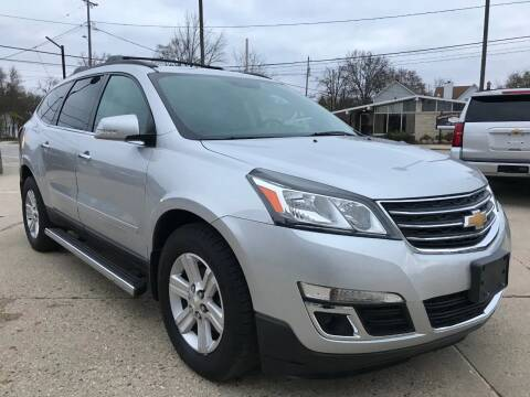 2013 Chevrolet Traverse for sale at Auto Gallery LLC in Burlington WI