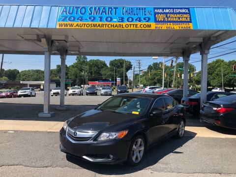 2013 Acura ILX for sale at Auto Smart Charlotte in Charlotte NC
