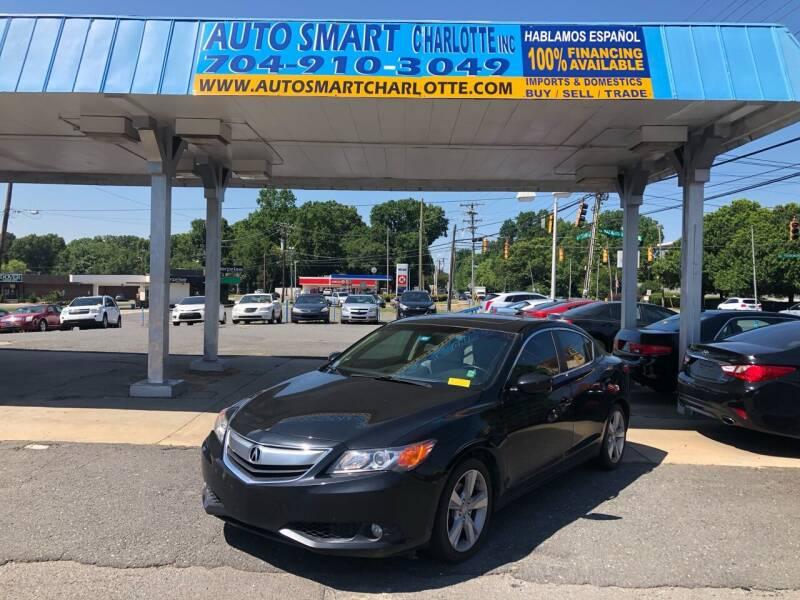 2013 Acura ILX for sale at Auto Smart Charlotte in Charlotte NC