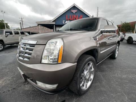 2011 Cadillac Escalade for sale at LUNA CAR CENTER in San Antonio TX