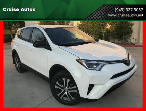 2018 Toyota RAV4 for sale at Cruise Autos in Corona CA