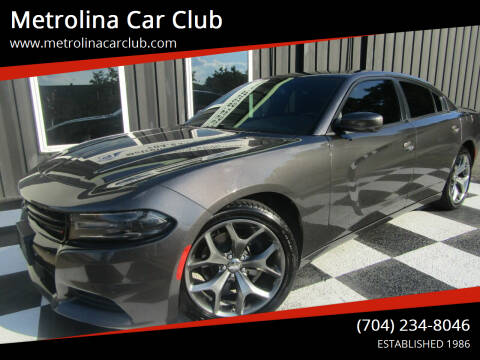 2016 Dodge Charger for sale at Metrolina Car Club in Matthews NC
