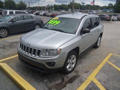 2012 Jeep Compass for sale at ORANGE PARK AUTO in Jacksonville FL
