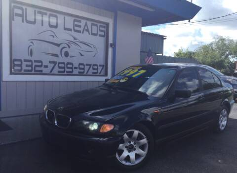 2003 BMW 3 Series for sale at AUTO LEADS in Pasadena TX