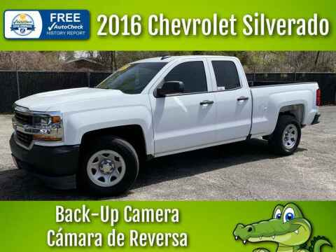 2016 Chevrolet Silverado 1500 for sale at LIQUIDATORS in Houston TX