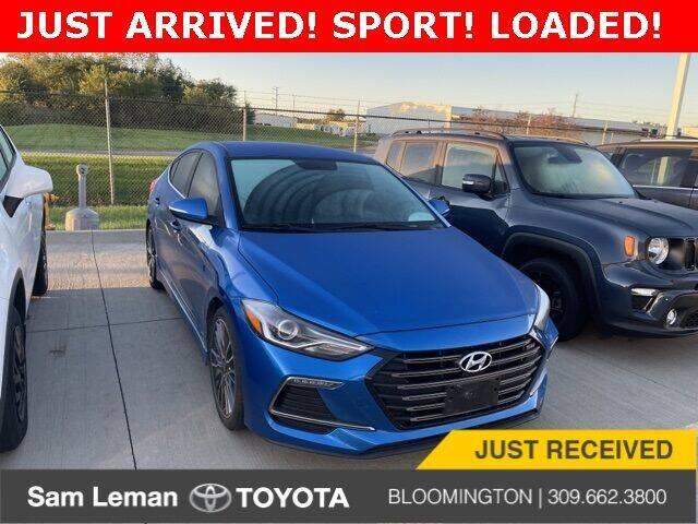 2017 Hyundai Elantra for sale at Sam Leman Mazda in Bloomington IL