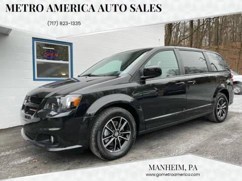 2019 Dodge Grand Caravan for sale at METRO AMERICA AUTO SALES of Manheim in Manheim PA