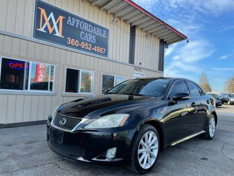 2009 Lexus IS 250 for sale at M & A Affordable Cars in Vancouver WA