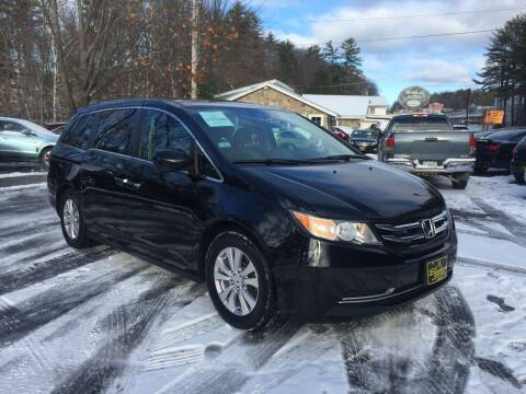 2016 Honda Odyssey for sale at Bladecki Auto in Belmont NH