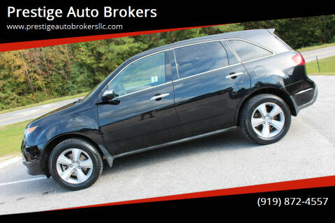 2013 Acura MDX for sale at Prestige Auto Brokers in Raleigh NC