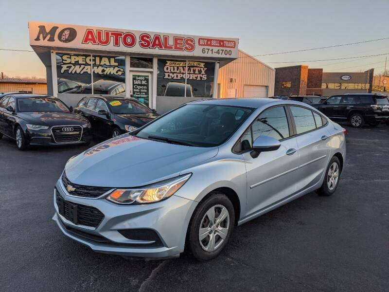 2017 Chevrolet Cruze for sale at Mo Auto Sales in Fairfield OH