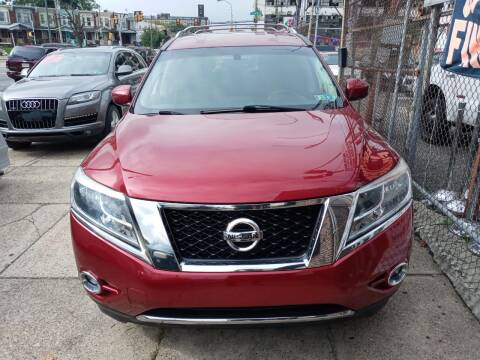 2013 Nissan Pathfinder for sale at AUTO DEALS UNLIMITED in Philadelphia PA