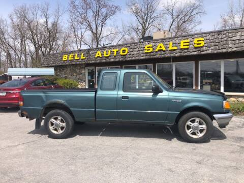 1997 Ford Ranger for sale at BELL AUTO & TRUCK SALES in Fort Wayne IN