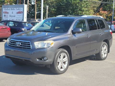 2009 Toyota Highlander for sale at United Auto Service in Leominster MA
