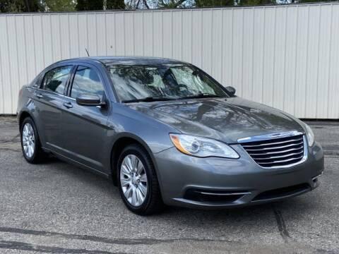 2013 Chrysler 200 for sale at Miller Auto Sales in Saint Louis MI
