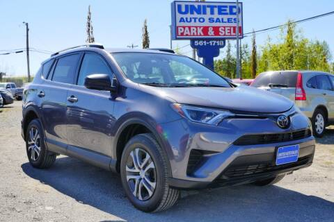 2017 Toyota RAV4 for sale at United Auto Sales in Anchorage AK