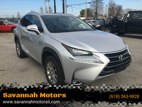 2015 Lexus NX 200t for sale at Savannah Motors in Cahokia IL