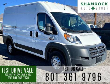 2018 RAM ProMaster Cargo for sale at Shamrock Group LLC #1 in Pleasant Grove UT