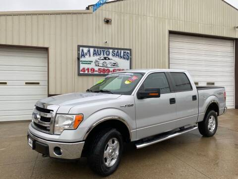 2013 Ford F-150 for sale at A-1 AUTO SALES in Mansfield OH