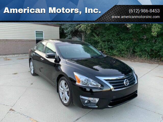 2013 Nissan Altima for sale at American Motors, Inc. in Farmington MN