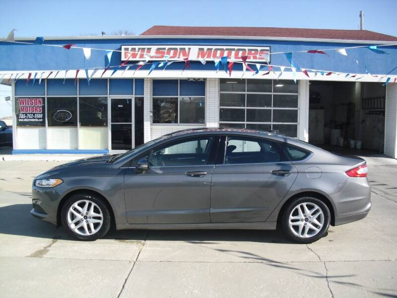 2014 Ford Fusion for sale at Wilson Motors in Junction City KS