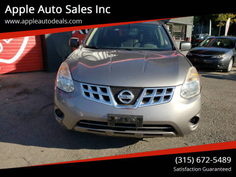 2013 Nissan Rogue for sale at Apple Auto Sales Inc in Camillus NY