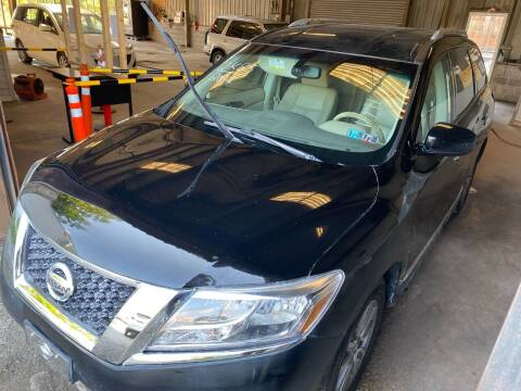 2014 Nissan Pathfinder for sale at Philadelphia Public Auto Auction in Philadelphia PA