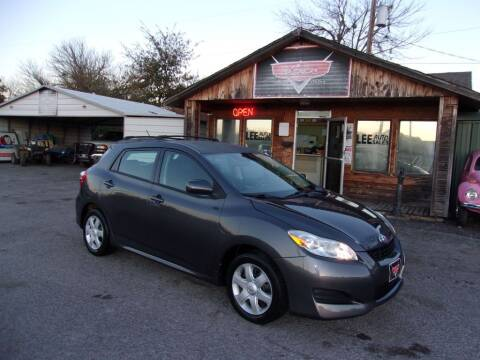 2009 Toyota Matrix for sale at LEE AUTO SALES in McAlester OK