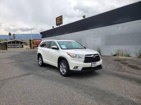 2014 Toyota Highlander for sale at Silver Star Auto in San Bernardino CA