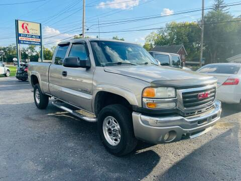 2003 GMC Sierra 2500HD for sale at California Auto Sales in Indianapolis IN