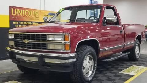 1992 Chevrolet C/K 1500 Series for sale at UNIQUE SPECIALTY & CLASSICS in Mankato MN