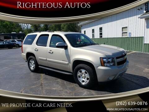 2007 Chevrolet Tahoe for sale at Righteous Autos in Racine WI