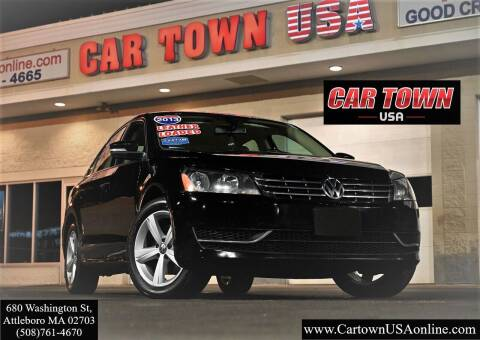 2013 Volkswagen Passat for sale at Car Town USA in Attleboro MA