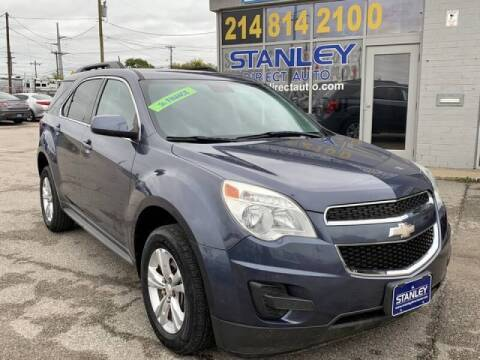 2013 Chevrolet Equinox for sale at Stanley Automotive Finance Enterprise - STANLEY DIRECT AUTO in Mesquite TX