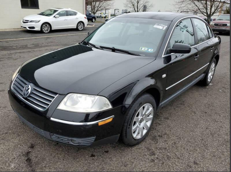 2002 Volkswagen Passat for sale at Penn American Motors LLC in Allentown PA