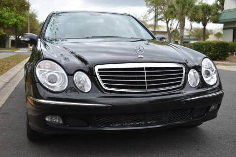 2005 Mercedes-Benz E-Class for sale at Monaco Motor Group in Orlando FL