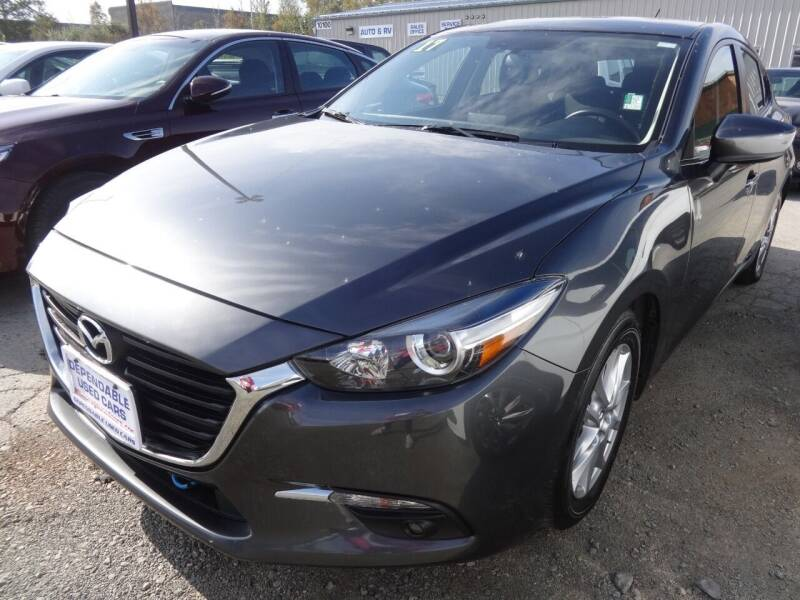 2017 Mazda MAZDA3 for sale at Dependable Used Cars in Anchorage AK