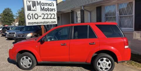 2006 Saturn Vue for sale at Mama's Motors in Greer SC