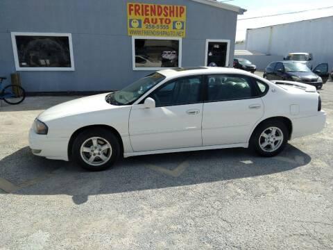 2005 Chevrolet Impala for sale at Friendship Auto Sales in Broken Arrow OK