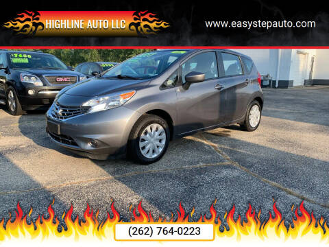 2016 Nissan Versa Note for sale at HIGHLINE AUTO LLC in Kenosha WI