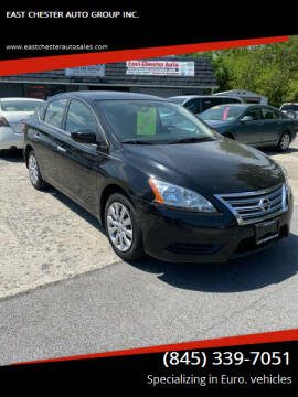 2015 Nissan Sentra for sale at EAST CHESTER AUTO GROUP INC. in Kingston NY